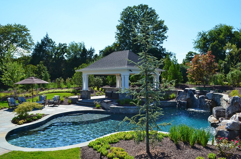 Freeform pools town and country pools custom pool for Pool design washington dc