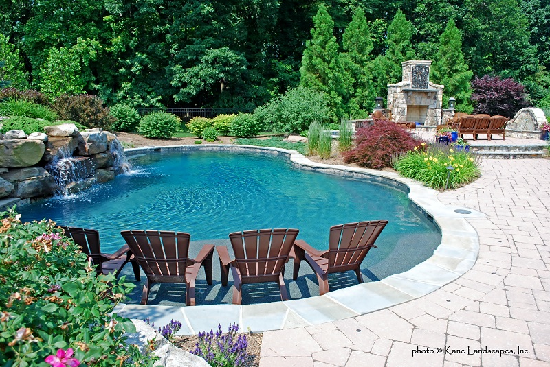 Freeform Pools - Town and Country Pools : Custom Pool