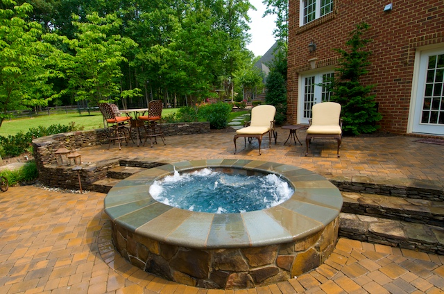Spa Gallery Town And Country Pools Custom Pool