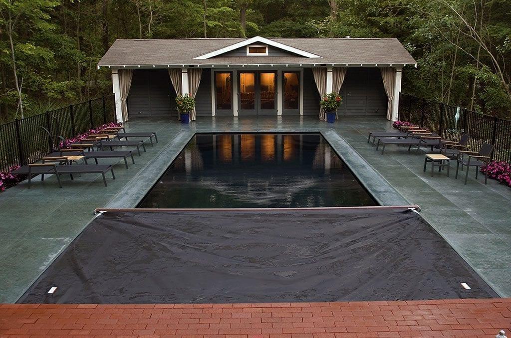 pool cover inground pool