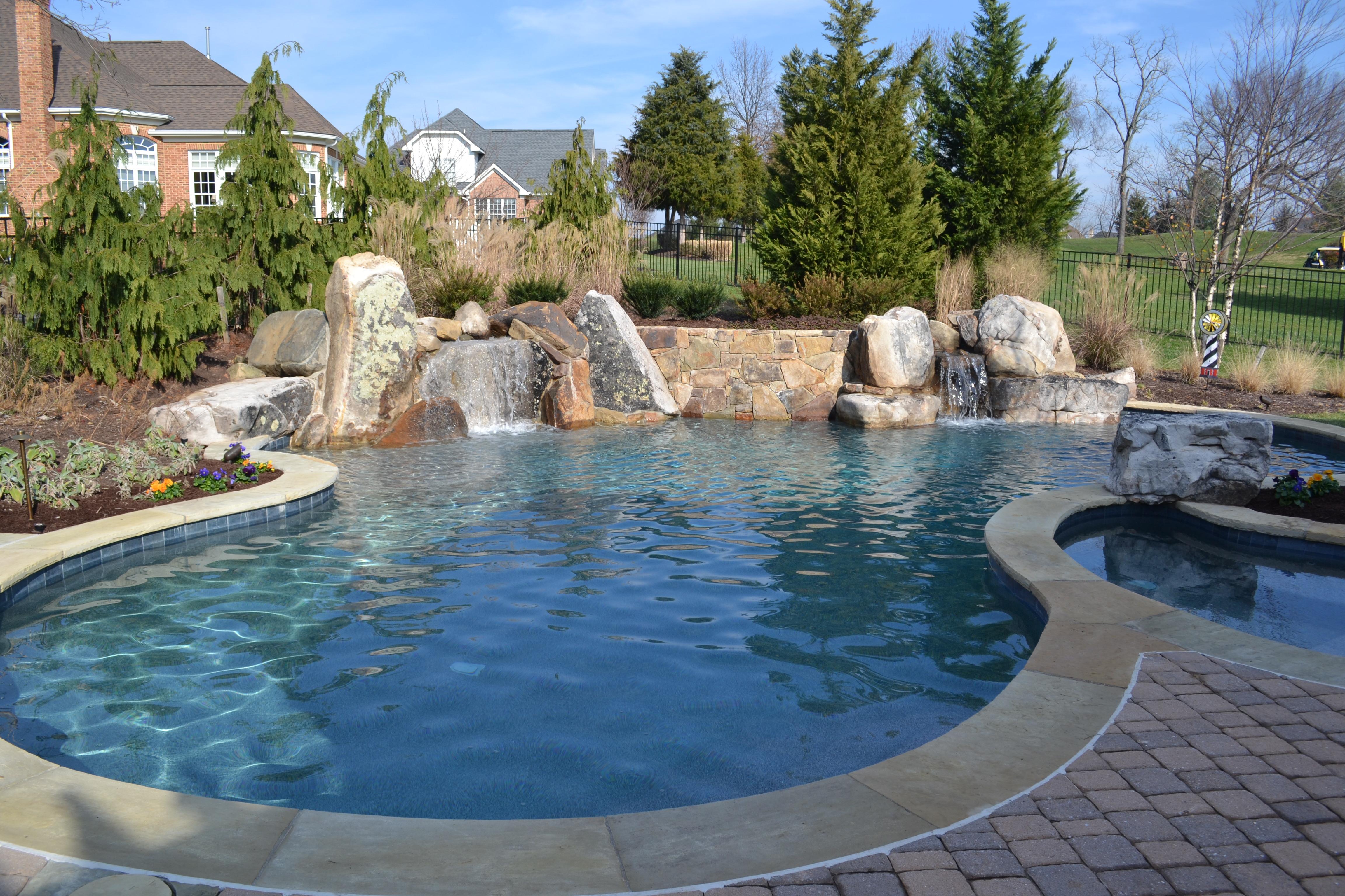 own an inground swimming pool