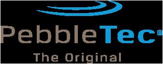 inground pools pebbletec logo