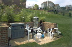 pool heater system