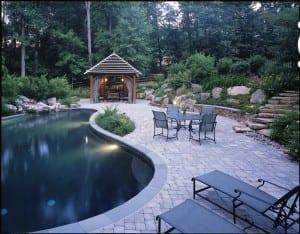 inground pool coping