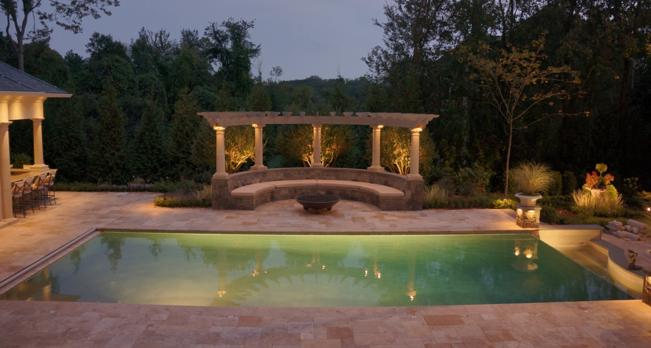 Luxury Inground Pools Town And Country Pools Builder Contractor
