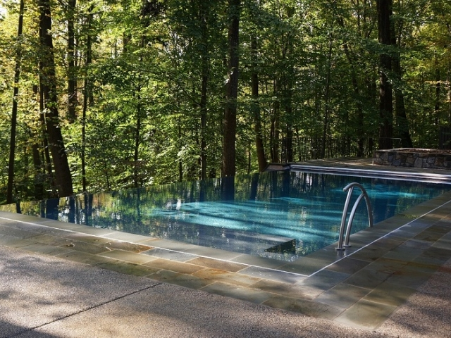Vanishing Edge Pool Gallery Town And Country Pools