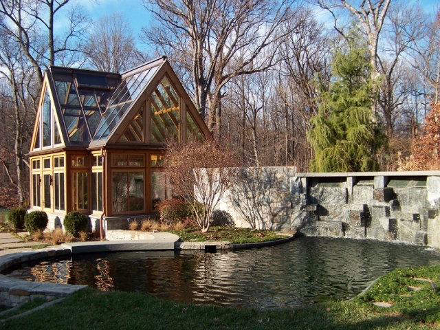Custom Koi Pond - Mclean, Virginia