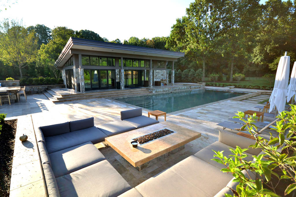 Rectangle pools swimming pools town country pools for Design my own pool
