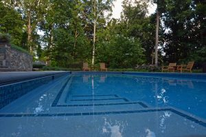 inground pool color