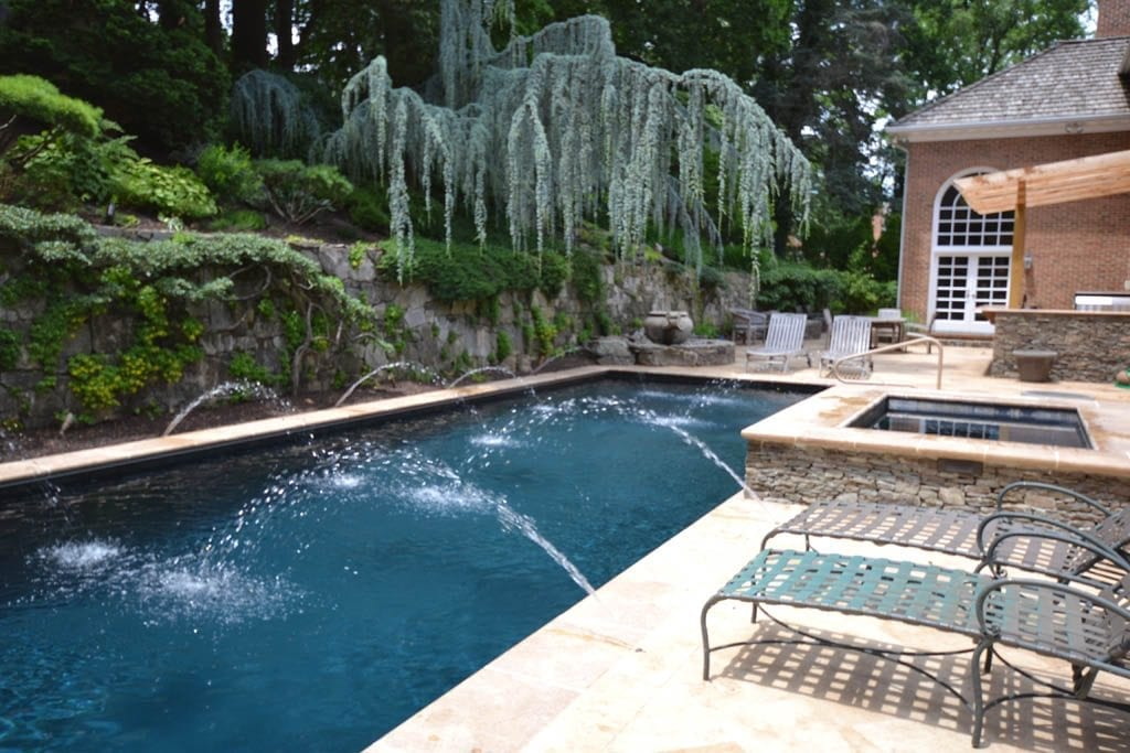 custom inground lap pool