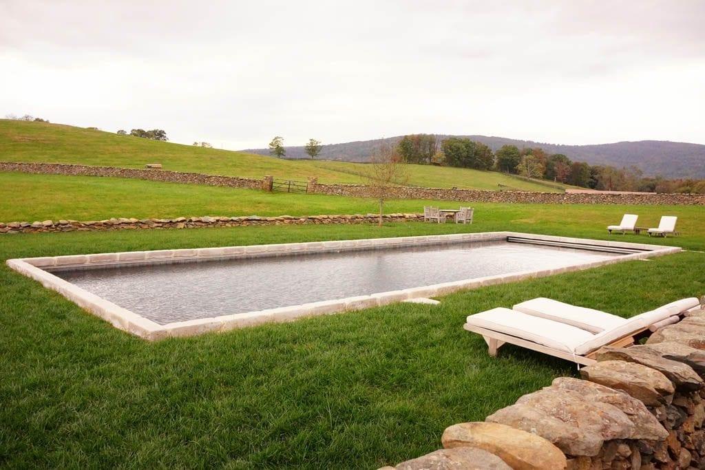 rectangle pool - lap pool