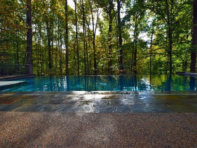 Pebble Sheen Blue Granite - Potomac, Maryland