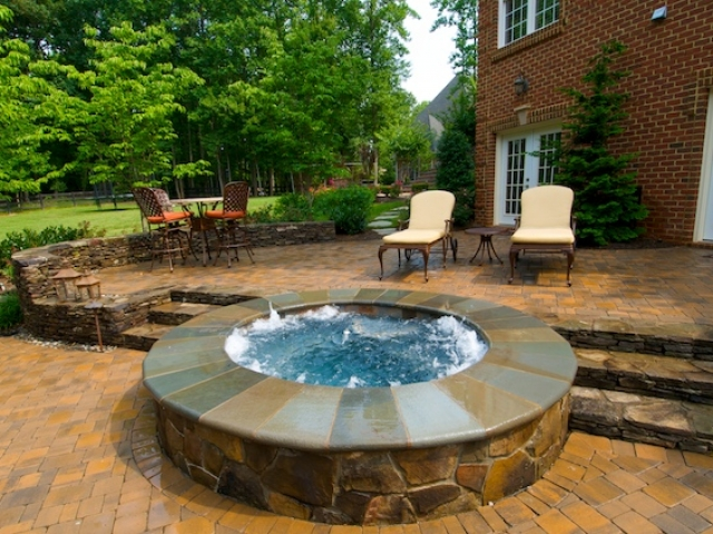 Detached Raised Spa- Oakton, Virginia