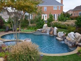 Pebble Sheen Blue Granite - Gainesville, Virginia