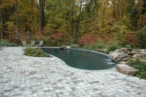 inground pool deck - pavers