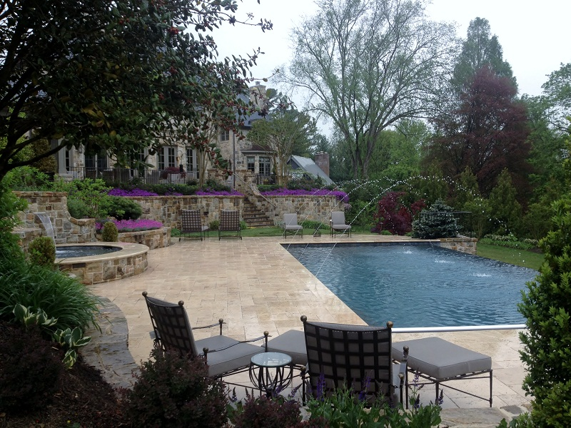 Vanishing Edge Pool Gallery Town And Country Pools Custom Pool Builders Pool Designer