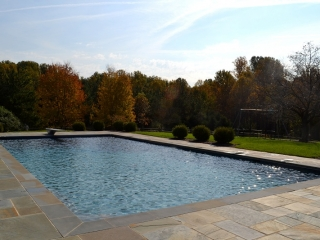 Pebble Sheen Blue Granite - Darnestown, Maryland