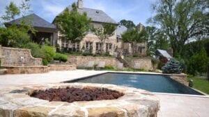 infinite edge inground pool